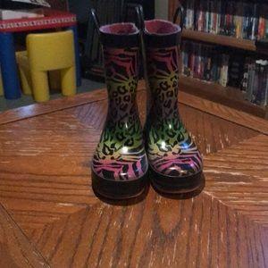 EUC girls rain boots